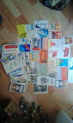 QSL карточки 1967-1985 годы.