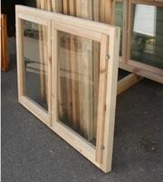Бюджетные деревянные окна