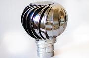 Турбодефлектор - вентиляционная турбина без электричества.