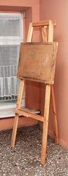 напольный деревянный мольберт для художественных работ
