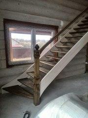 Лестница любой сложности из массива дерева. Акция до Нового года