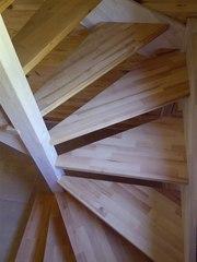 Винтовая лестница на второй этаж для дома и дачи. Купить