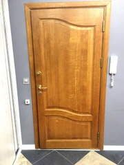 Двери дубовые входные (дуб Италия)