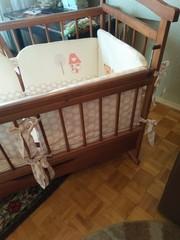 Детская кроватка матрас купить минск б/у