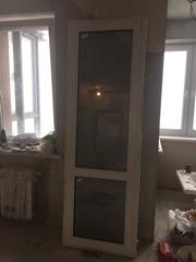 Дверь балконная с тремя режимами
