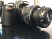 NIKON D3200 Kit 18-55 в Подарок сумка через плечо!!