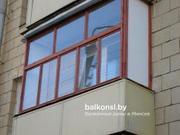 Балконные рамы из дерева