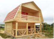 Дачный дешевый Дом сруб 6х7, 5 м из бруса с установкой