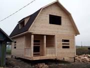 Дом и Баня из бруса сруб на заказ с установкой за 10 дней дешево