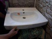 Сантехническая раковина в ванную комнату,  для стиральной машины.