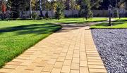 Выполним благоустройство территории: укладка тротуарной плитки