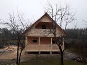 Дом-Баня Сруб из бруса Офелия 6 × 4 с установкой недорого