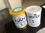 Kabrita 1 GOLD и Nestle NAN Optipro 1