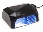 Гибридная лампа CCFL+LED для сушки геля,  гель-лака