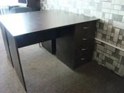 Офисная мебель. Столы 3 шт. 150х70,  4 шт. 70х1000,  шкаф,  стулья 7 шт.