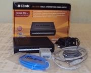 Роутер D-Link DSL-2520U ADSL2+ Ethernet/USB Combo
