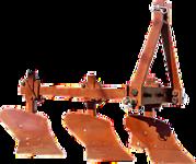 Плуг трёхрядный для минитрактора