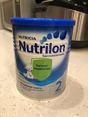 ОТДАМ ЗА УЛЫБКУ Nutrilon кисломолочный 2