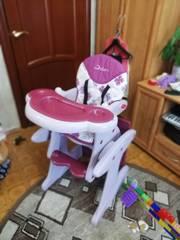 Стульчик - трансформер детский для кормления Jetem Magic