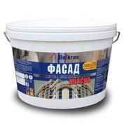 Краска фасадная акриловая водно дисперсионная «Белкрас Фасад» от 1, 9 руб. за 1 кг.