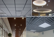 Подвесной потолок типа - армстронг,  грильянто - монтаж