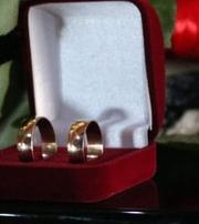 Продам обручальные кольца 585 пробы