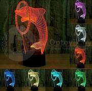 3 D Creative Desk Lamp (Настольная лампа голограмма 3Д)