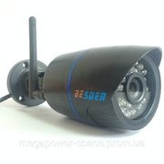 WiFi  IP камера BESDER 6024PB-HX101 720P (Black)