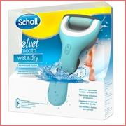 Электрическая роликовая пилка Scholl Wet  Dry