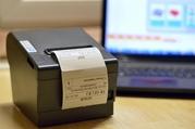Новый термопринтер (чековый принтер) 80мм USB+LAN с автообрезчиком