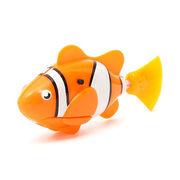 Аквариумная рыбка Клоун,  плавает в воде,  работает от батареек!