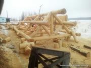 Услуги по строительству - Изготовим сруб дома,  бани.