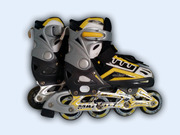 Роликовые коньки maxcity punto yellow размер 33-36
