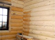 Сруб:Шлифовка,  покраска,  конопатка и отделка домов и бань