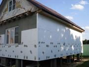 Утепление (теплоизоляция) фасада зданий,  стен,  балкона
