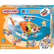 Конструктор Meccano Вертолет, 4 модели, возраст+5(Франция)