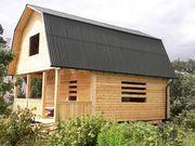 Отличный сруб Дома для дачи из бруса 6 х 8
