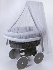 Колыбель плетеная для новорожденного