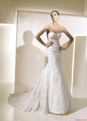 Свадебное платье La Sposa со счастливой аурой!