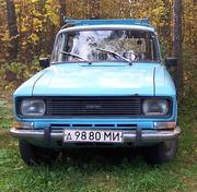 Москвич М-2137,  1982г. выпуска,  полной комплектности.