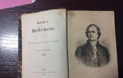 Гете издание 1868 года Goethe Meisterwerke 1868