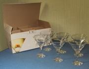 Набор бокалов для мартини 190 мл ''Бистро'',  6 шт