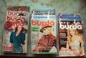 Журналы Бурда 1987 - 2007 гг.