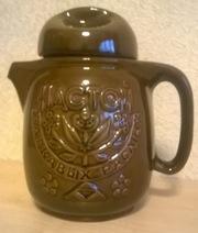 Чайник-заварник для трав (керамика,  объём 1, 2 л)